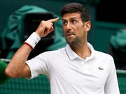 Final-Gegner von Roger Federer in Wimbledon: Novak Djokovic. (Bild: Keystone)