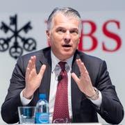 Liebäugelt mit einem Verwaltungsratsmandat: UBS-CEO Sergio Ermotti. (Bild: Ennio Leanza/Keystone).