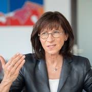 Noch bis Ende Mai 2020 im Amt: Die St.Galler Gesundheitschefin Heidi Hanselmann. (Bild: Urs Bucher)