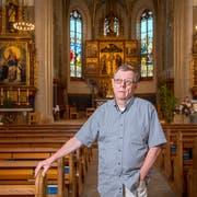 Pfarrer Heinz Angehrn versuchte stets, Predigt und Politik zu trennen. Während 26 Jahren in Abtwil gelang ihm das nicht immer. (Bild: Urs Bucher)