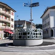 Der Kreisel in Wolhusen. (Bild: Nadia Schärli)