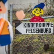 Die Kinderkrippe Felsenburg an der Gaissbergstrasse. (Bild: Reto Martin)