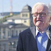 Der Kunstsammler und Besitzer zweier Thurgauer Schlösser Bruno Stefanini ist im Alter von 94 Jahren gestorben. (Archivbild: Stefan Schaufelberger)