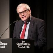 Kurt Fluri, Präsident der Staatspolitischen Kommission des Nationalrats. (KEYSTONE/Adrien Perritaz)
