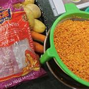 Linsen für Dal (Hülsenfrüchte-Curry)