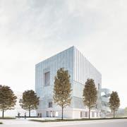 So soll das Probenhaus des Luzerner Sinfonieorchester dereinst aussehen. (Bild: PD)