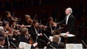 Die St. Petersburger Philharmoniker unter der Leitung von Juri Temirkanow. Bild: Peter Fischli / Lucerne Festival