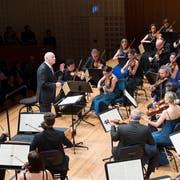 Dirigent Bernard Haitink im KKL in Luzern. (Bild: Eveline Beerkircher, Luzern, 23. Mai 2019)