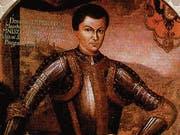 Der russische Zar Demetrius I. auf einer zeitgenössischen Darstellung. (Bild: PD)