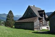 Das Haus Hirschen war früher ein Hotel. (Bild: Michael Hehli)