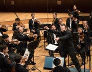 Die Berliner Philharmoniker unter Kirill Petrenko begeisterten das Publikum im KKL. Bild Priska Ketterer/Lucerne Festival (Luzern, 29. August 2018)