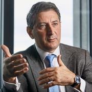 Post-Konzernchef Roberto Cirillo: «Wir wollen damit verhindern, dass in der Schweiz Dienstwüsten entstehen.» (Bild: Annette Boutellier)