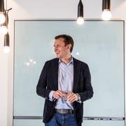 Jonathan Green Chef von Juul Labs. Die amerikanische Firma lanciert in der Schweiz neue E Zigaretten, die in der USA sehr erfolgreich sind. (Bild: Nadia Schärli)