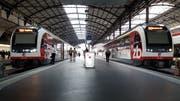 Aus Ob- und Nidwalden werden die Verbindungen zum Flughafen Zürich während zwei Jahren schlechter. (Bild: Matthias Piazza (Luzern, 27. Juni 2018))
