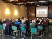Die Pensionäre Walter Winkler und Ernst Frei haben am Mittwoch ihre Zahlen präsentiert. (Bild: Tanja von Arx)