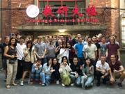 Die Schweizer ICT-Lehrlinge sind in Schanghai angekommen. (Bild: PD)