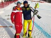 Hans Knauss, früherer Weltcupfahrer, heute Kamerafahrer beim ORF, ist beeindruckt von der Arbeit der Voluntaris. (Bild: PD)