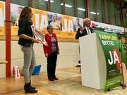 Paul Winiker ist in Ruswil einstimmig für eine weitere Legislatur als Regierungsrat nominiert worden. (Bild: Evelyne Fischer, 8. November 2018)