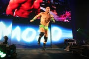 Mojo Rawley hat den Superhelden-Twist drauf. Bild: WWE