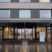 Das Kantonsspital Obwalden in Sarnen. (Bild: Corinne Glanzmann (9. Januar 2019))