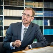 «Die Gerichte haben ein Kommunikationsproblem»: Patrick Guidon. (Bild: Ralph Ribi)