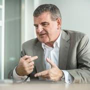 Peter Spuhler: «Ich bin halt zuerst einmal Unternehmer und erst in zweiter Linie Politiker.» (Bild: Andrea Stalder)