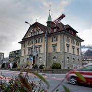 Das Krienser Gemeindehaus. Bild: Corinne Glanzmann (26. Februar 2018)