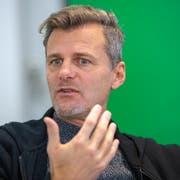 Alain Sutter ist seit einem Jahr der Sportchef des FC St.Gallen. (Bild: Urs Bucher)