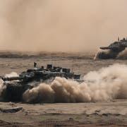 Leopard-2-Panzer bei einem Nato-Manöver in Polen. (Bild: Sean Gallup/Getty Images)