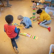 Berg sucht nach Antworten bei der Kinderbetreuung. (Bild: Urs Bucher)