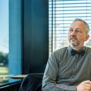 Thomas Merz ist Medienpädagoge und Prorektor der Pädagogischen Hochschule Thurgau. (Bild. Reto Martin)