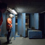 Tunnelserie OST: Die verborgenen Betriebsanlagen des A1-Rosenbergtunnels in St. Gallen© Urs Bucher/TAGBLATT