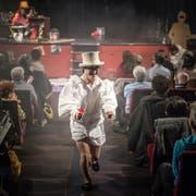 Das Theater Hora gastiert im Palace. Das Kulturzentrum ist ein vielseitiger Veranstaltungsort im Stadtzentrum, der ohne städtische Unterstützung wohl nicht überleben könnte. Bild: Michel Canonica (10. März 2018)