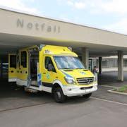 Die SRFT mit den zwei Spitälern Wil und Wattwil steht vor schwieriegen Herausforderungen. Im Bild der neue Notfall des Spitals Wil. (Bild: Hans Suter)