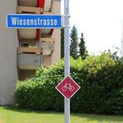 Der Jakobsweg auf der Wiesenstrasse wird neu als Wanderweg mit Hartbelag eingeteilt. (Bild: Anne-Sophie Walt)