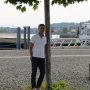 Einer der Lieblingsorte von Felix Wüst: Der Hafen in Staad. (Bild: Ines Biedenkapp)