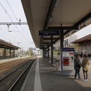 Der Rorschacher Stadtbahnhof erhält zwei überdachte Perrons. Damit dürfte er dem heutigen Goldacher Bahnhof gleichen. (Bild: Marco Cappellari)