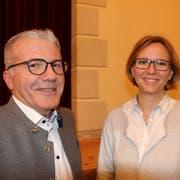 Der Zuzwiler Gemeindepräsident Roland Hardegger wurde in den Verwaltungsrat des ZAB gewählt. Seinen bisherigen Platz in der Kontrollstelle nimmt neu die Gossauer Stadträtin Claudia Martin ein. (Bild: Hans Suter)