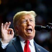 Donald Trump an einer Wahlveranstaltung in Fort Wayne. (Bild: Carolyn Kaster/AP Photo (5. November 2018))