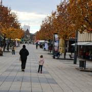 Hier an der Oberen Bahnhofstrasse findet am 31. August 2019 die Gewerbemesse statt. (Bild: Sara Petrillo)
