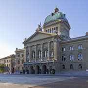 Das Bundeshaus in Bern. (Bild: Gaetan Bally)