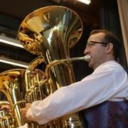 Die Musikgesellschaft Niederwil startete den zweiten Wettbewerbstag in Lenggenwil. (Bilder: Hans Suter)