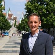 Robert Stadler sieht Potenzial in der Region Wil: «Es gibt hier nebst Leuchttürmen wie Bühler viele Hidden Champions, also Unternehmen, die in der Gesellschaft nicht sonderlich bekannt sind, aber in ihrer Nische Marktführer sind.» (Bild: Hans Suter)