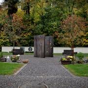 Das neue Gemeinschaftsgrab auf dem Friedhof Stansstad, das am 1. November 2013 eingeweiht wurde. (Bild: Corinne Glanzmann (30. Oktober 2018))