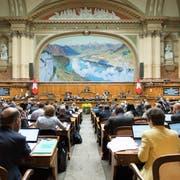 Die 9 Luzerner Sitze im 200-köpfigen Nationalrat sind heiss begehrt: Die CVP tritt am 20. Oktober mit einer Haupt- und sieben Unterlisten an. (Bild: Anthony Anex/Keystone, 19. September 2017)