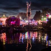 Blick auf den Lunapark am «Fantastical »letztes Jahr. (Bild: Andrea Stalder)
