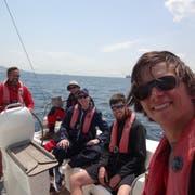 Im Mittelmeer machte Maurice Grob im Rahmen eines Segelkurses innert zwei Wochen seine Day-Skipper-Lizenz. (Bild: PD)