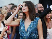 Elisa Isoardi beim Filmfestival in Venedig. Bild: Ernesto Ruscio/Getty(Venedig, 29. August 2018)