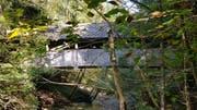 Noch in diesem Jahr soll die historische Harzenmoosbrücke über den Zwislerbach saniert werden. Ein Gutachten sieht dafür Kosten in der Höhe von 150000 Franken vor. (Bild: PD)