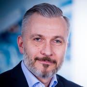 Dirk Prehn von Ruag Aerostructures.